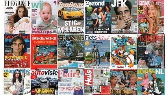 tijdschrift naar keuze assortiment